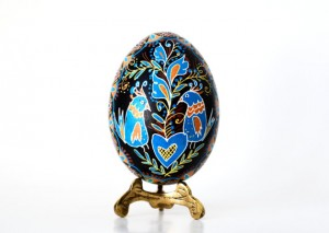 hand painted Ukrainian eggs