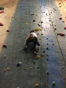 pickykidpix rock climbing, central rock gym