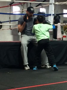 Nonantum Boxing Club, kids boxing