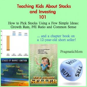 teaching kids about stocks and investing