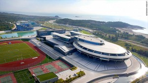 "The online game developer run by an avid ""Star Trek"" fan has built its headquarters in China in the shape of the legendary spaceship"