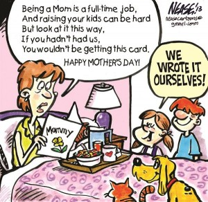 Mother's Day cartoons