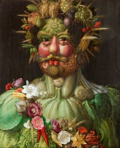 Giuseppe Arcimboldo food as art