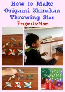 How to Make Origami Shirukan Throwing Star