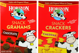 Horizon Organics snack crackers