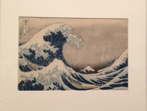 The Great Wave by Hokusai, Boston Museum of Fine Arts
