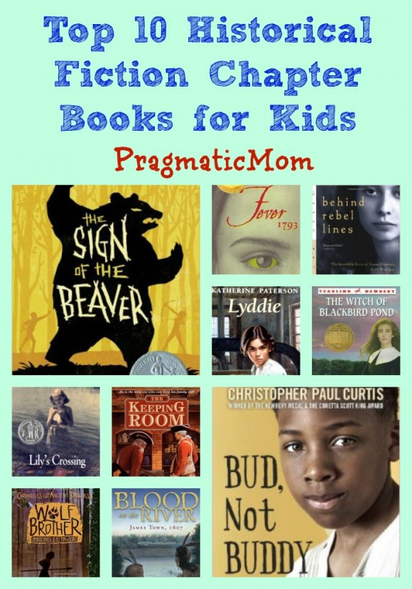 Top 10 historical fiction chapter books pragmaticmom for Children s armchairs 10 of the best