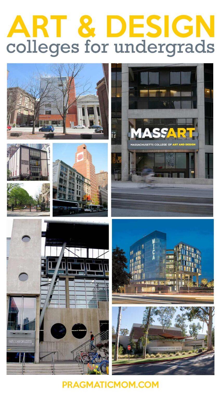 Top Art & Design Colleges for Undergraduates
