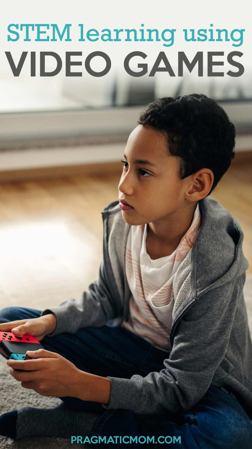 Video Games for STEM Summer Learning