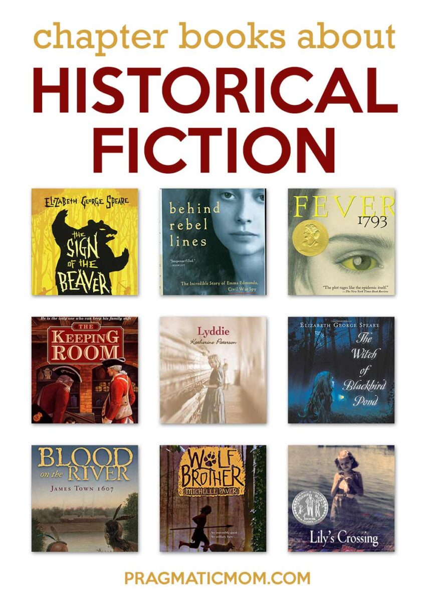 Chapter Books About Historical Fiction
