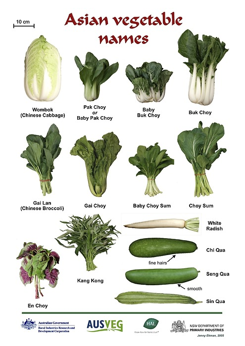 Asian vegetables, ugly vegetable soup, chinese vegetables
