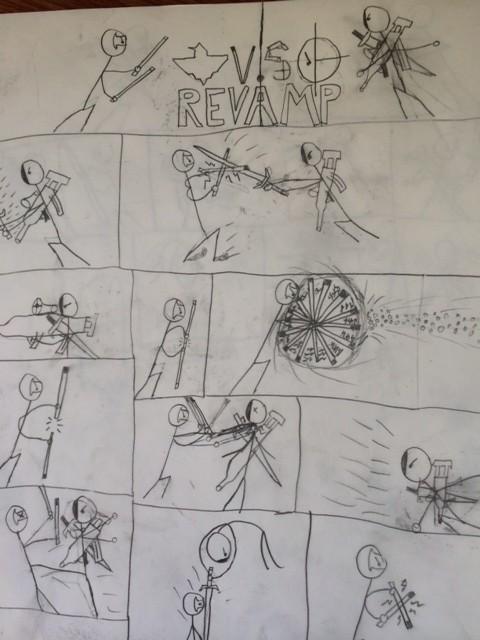 drawing superhero comics for boys