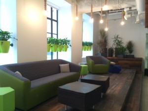 Aquent new office space