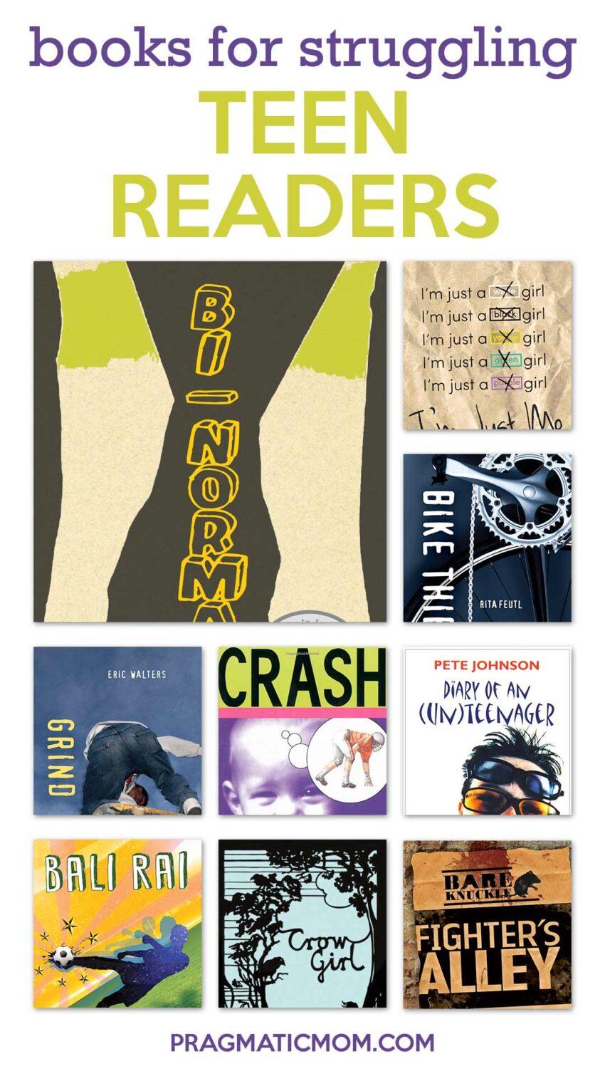 Books for Struggling Teen Readers