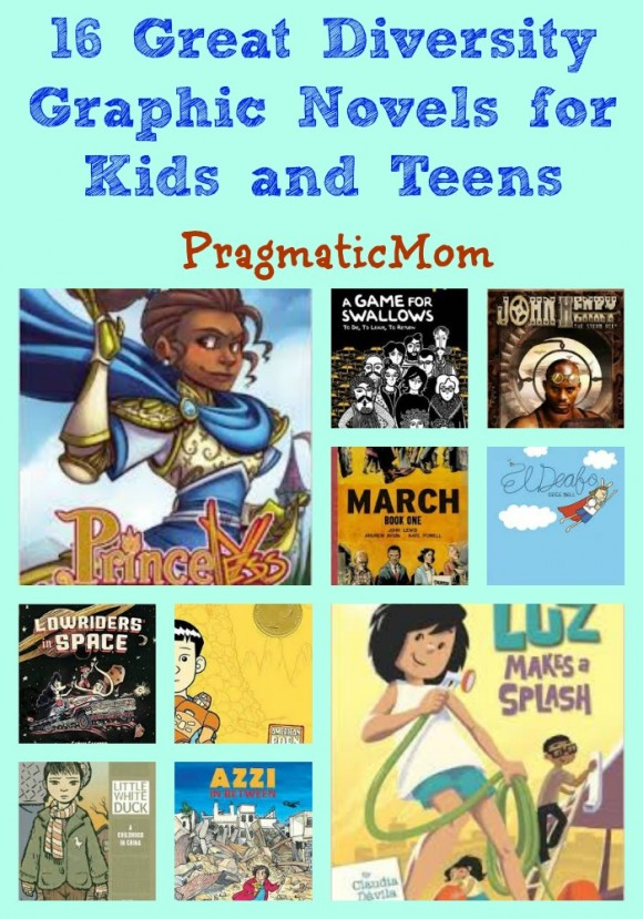 16 Great Diversity Graphic Novels for Kids and Teens