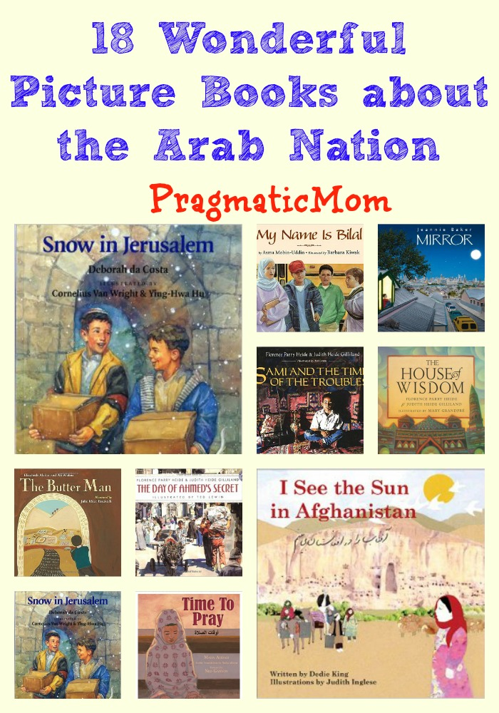 18 Wonderful Picture Books about the Arab Nation