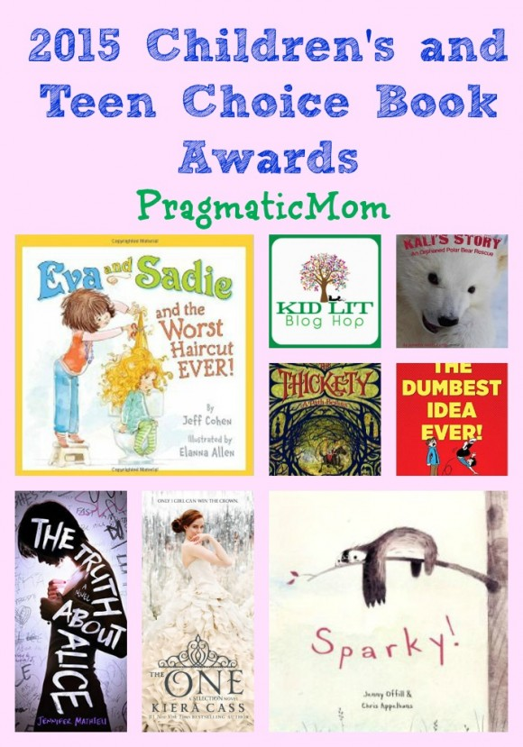 2015 Children's and Teen Choice Book Awards