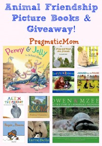 Animal Friendship Picture Books & Giveaway!