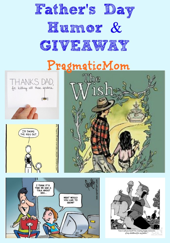 Father's Day Humor & GIVEAWAY