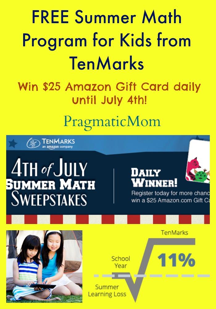 Free Summer Math Program