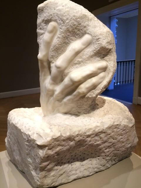 Rodin sculpture at Rhode Island School of Design Museum