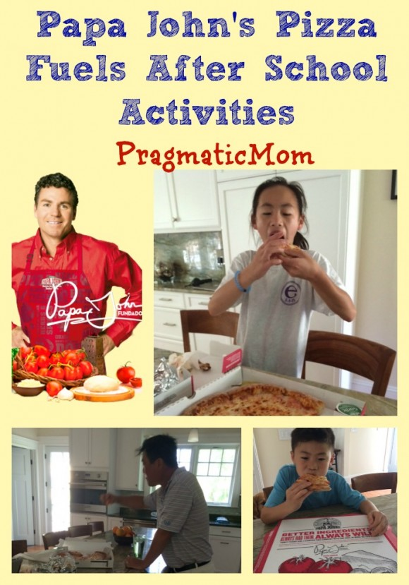 Papa John's Pizza Fuels After School Activities with #BetterIngredients