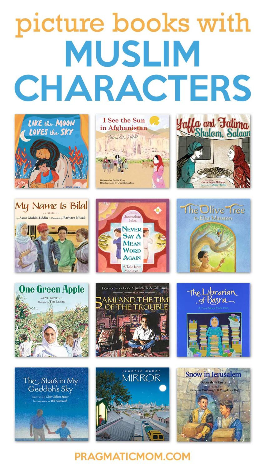 Wonderful Picture Books with Muslim Characters