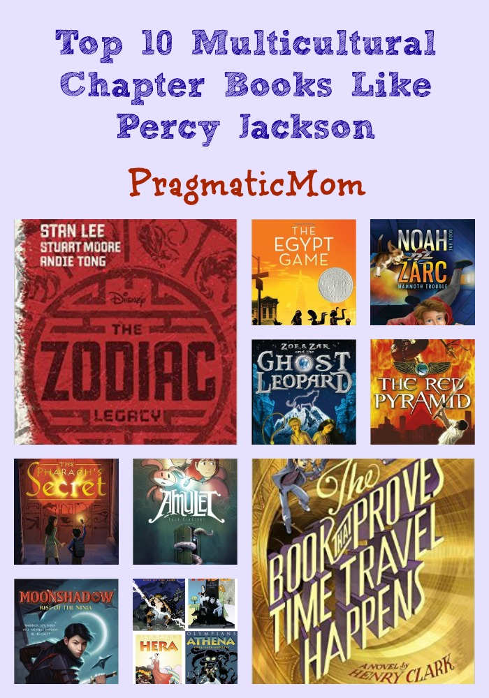 Top 10: Diversity Chapter Books Like Percy Jackson – PragmaticMom