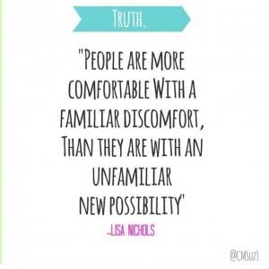 family discomfort