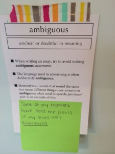 Rich Vocabulary Part 1: Learning More Words, SAT Vocabulary cards