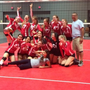 MGA club volleyball at Northeast Junior Volleyball championships