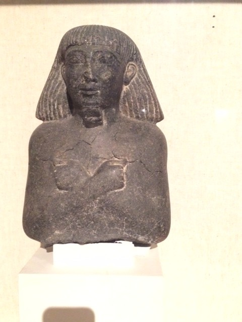 Could this be Senenmut of Hatshepsut's reign?