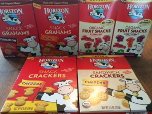 Horizon Organics snacks for kids