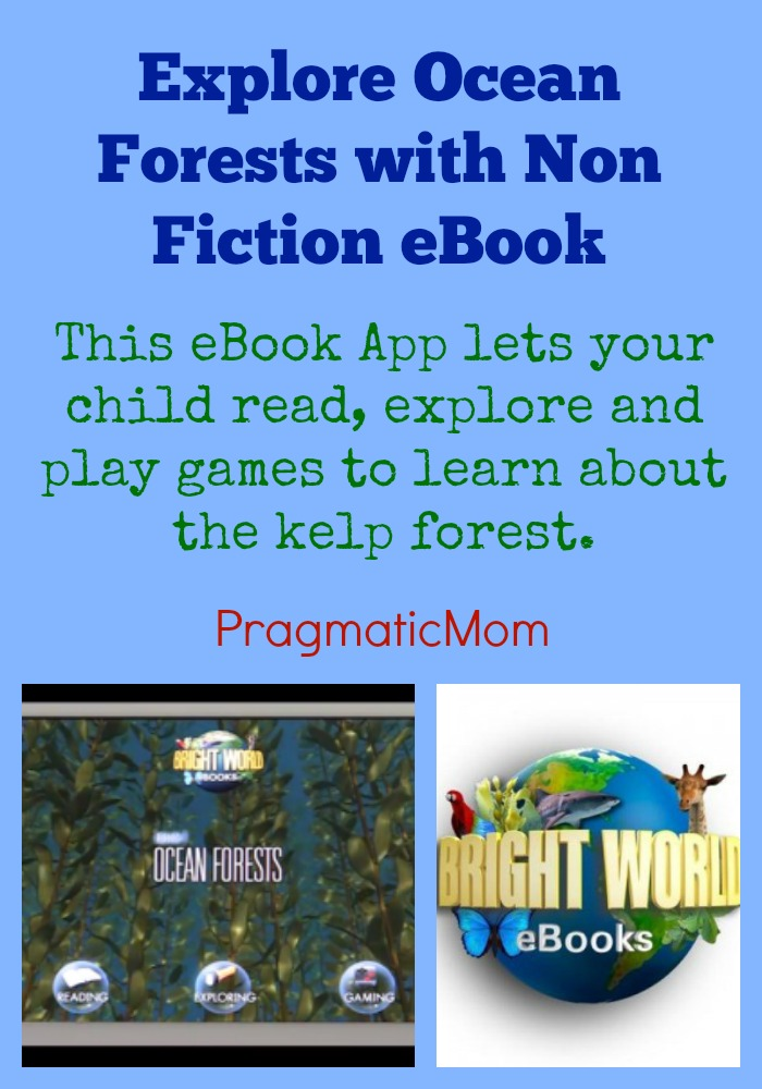 Explore Ocean Forests with Non Fiction eBook