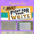 Fight for Your Write