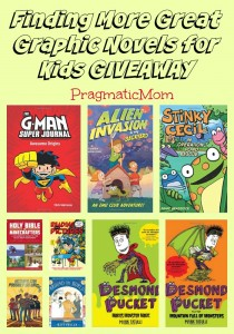 Finding More Great Graphic Novels for Kids GIVEAWAY