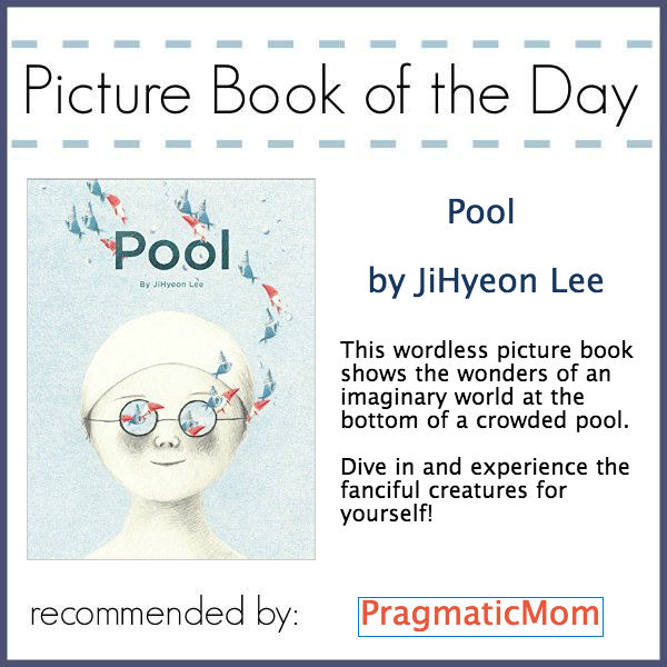 Pool by JiHyeon Lee, wordless picture book