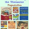 Teaching Kids Rich Vocabulary using the Thesaurus