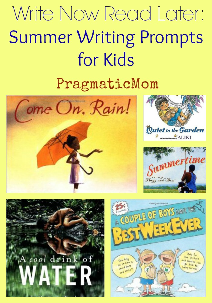 Write Now Read Later: Summer Writing Prompts for Kids