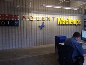 Aquent MacTemps Portfolio