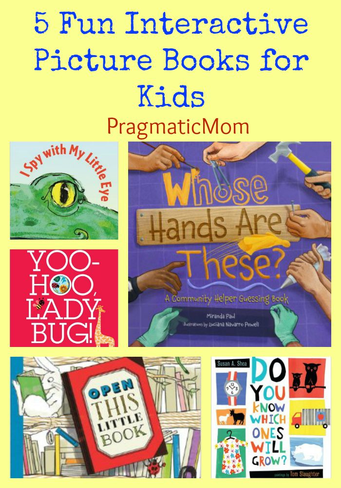 5 Interactive Picture Books