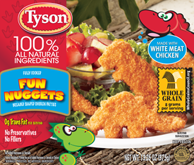 Back to School with Tyson A+ Fun Nuggets