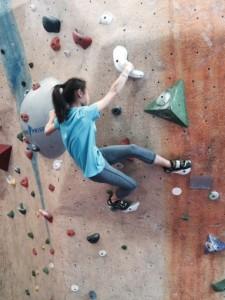 PickyKidPix rock climbing