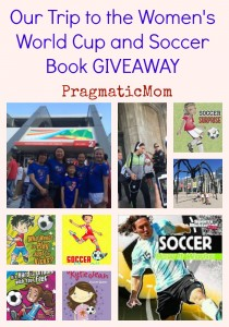 Our Trip to the Women's World Cup and Soccer Book GIVEAWAY