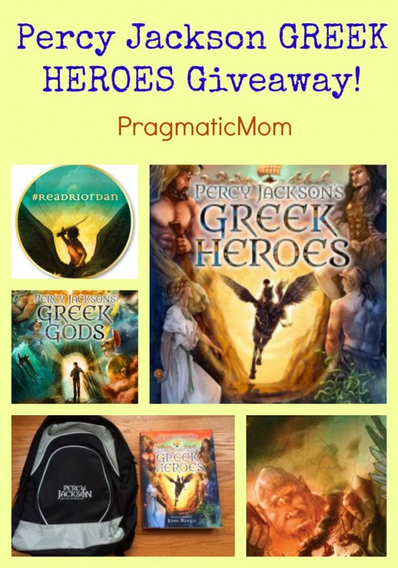Percy Jackson GREEK HEROES Giveaway! #ReadRiordan