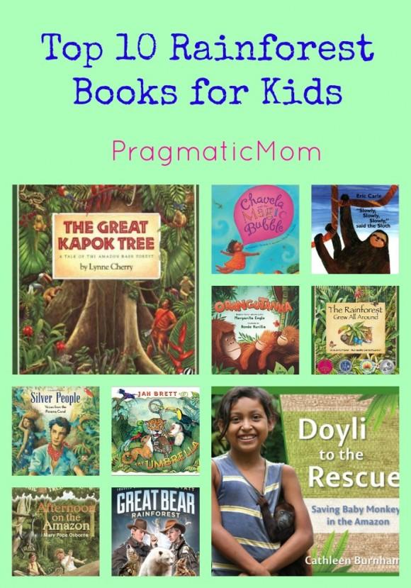 Top 10 Rainforest Books for Kids