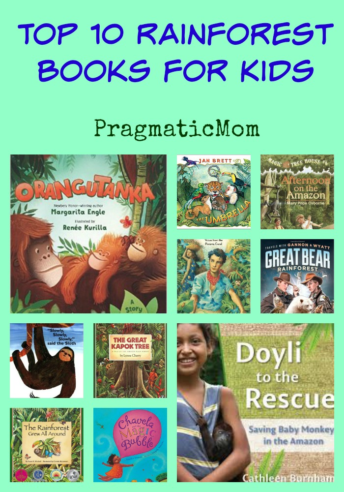 Top 10 rainforest books for kids pragmaticmom top 10 rainforest books for kids fandeluxe Image collections