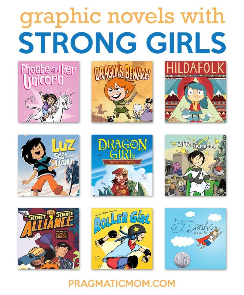 Graphic Novels with Strong Girls