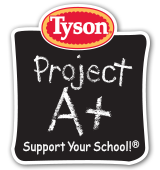 Tyson Project A+ for School Fundraising