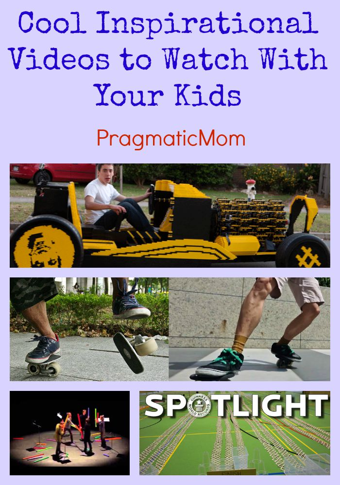 Cool Inspirational Videos to Watch With Your Kids – PragmaticMom